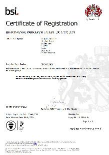 ISO 14001: 2015 - Landore & Long Marston Site