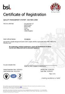ISO 9001: 2015 - Company Wide